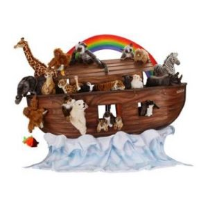 NOAH'S ARK W/ ANMLS25 Plush Toy