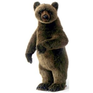 GRIZZLY BEAR CUB STANDG UP ON 2FT Plush Toy