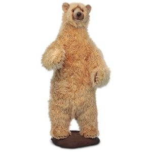 BEAR HONEY BROWN TALKING/SINGING Plush Toy