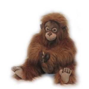 ORANGUTAN CLAPPING Plush Toy
