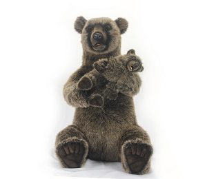"MAMA GRIZZLY & CUB ROCKING 29"" Plush Toy"