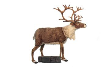 REINDEER NORDIC TALK/SING Plush Toy