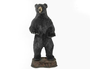 BLACK BEAR UPRGT TALK/SING Plush Toy