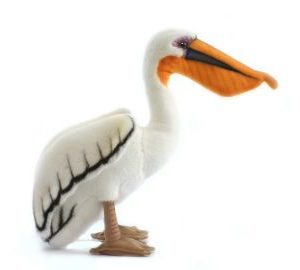 "PELICAN 11""H Plush Toy"