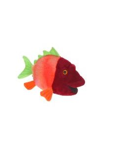 Life-size and realistic plush animals.  2977 - FISH #7 6''L A4