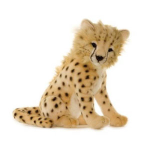 CHEETAH BABY 7'' Plush Toy