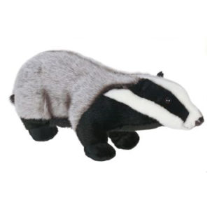 BADGER 18''L Plush Toy