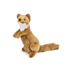 Life-size and realistic plush animals.  3147 - WEASEL 12''