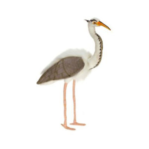 Life-size and realistic plush animals.  3231 - HERON GREAT BLUE 28''