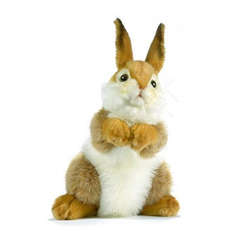 Life-size and realistic plush animals.  3316 - BUNNY