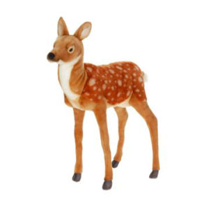 Life-size and realistic plush animals.  3433 - DEER