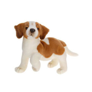 ST BERNARD PUPPY 14''L Plush Toy