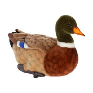 DUCK MALLARD 14''L Plush Toy