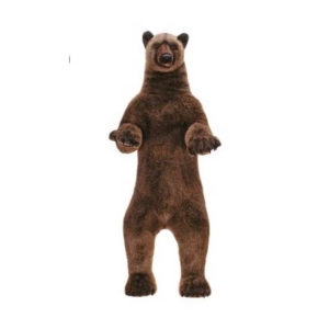 GRIZZLY BEAR YOUNG 60'' Plush Toy