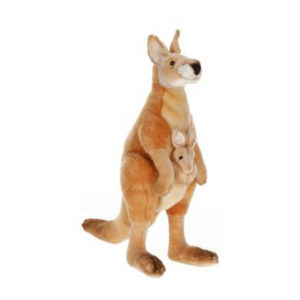 KANGAROO MOM-JOEY 17'' Plush Toy