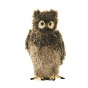 Life-size and realistic plush animals.  3678 - OWL