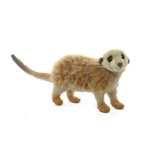 Life-size and realistic plush animals.  3704 - MEERKAT ON ALL4'S 6''