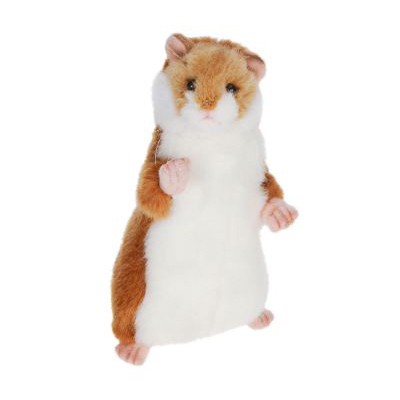 Life-size and realistic plush animals.  3739 - HAMSTER