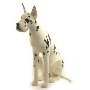 "GREAT DANE HARLEQUIN 48""H Plush Toy"