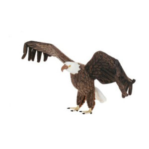 EAGLE LIFE SIZE 47''W Plush Toy