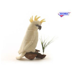 COCKATOO WHITE 8.5'' Plush Toy