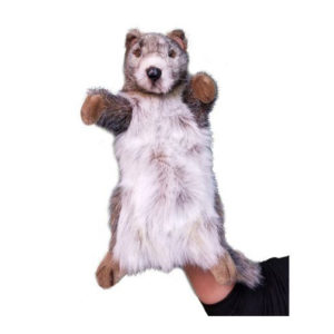 """Life-size and realistic plush animals.  3931 - MARMOT PUPPET12.5""""H"""
