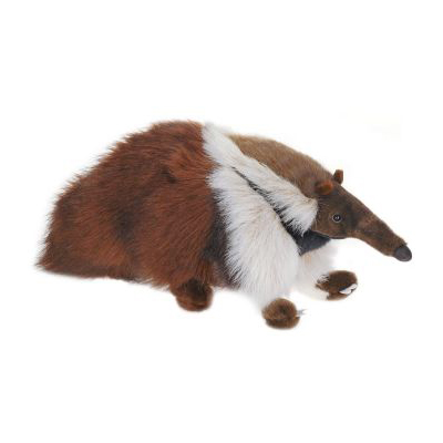 Life-size and realistic plush animals.  3986 - ANT EATER 18''L