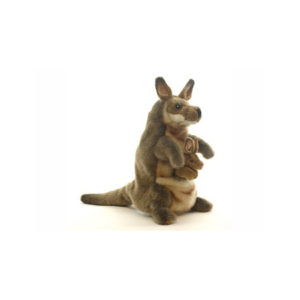 "KANGAROO PUPPET 11.3""H Plush Toy"