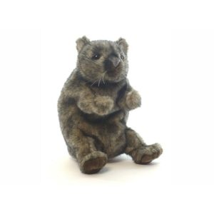 "WOMBAT PUPPET 9""H Plush Toy"