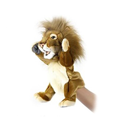 "LION PUPPET 11"" Plush Toy"