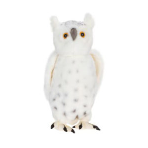 Life-size and realistic plush animals.  4045 - OWL