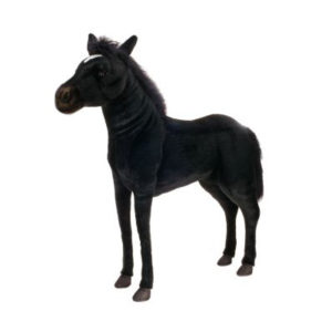 BLK BEAUTY RIDE-ON 39'' Plush Toy