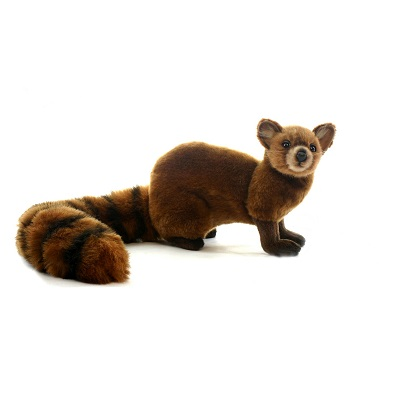 Life-size and realistic plush animals.  4077 - MONGOOSE 14''L