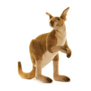 KANGAROO MALE 26''L Plush Toy