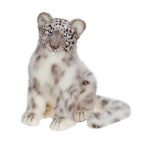 SNOW LEOPARD CUB 17''L Plush Toy