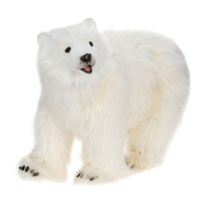 POLAR BEAR CUB on all 4'S 42''L Plush Toy
