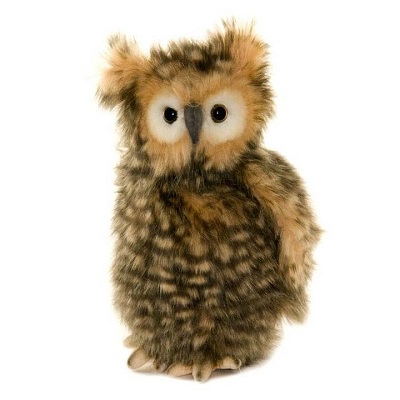 Life-size and realistic plush animals.  4466 - OWL