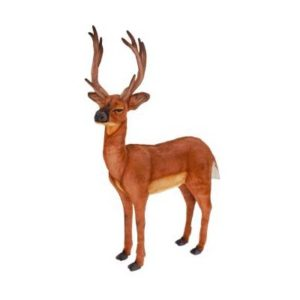 Life-size and realistic plush animals.  4509 - DEER