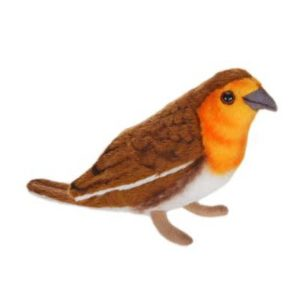 Life-size and realistic plush animals.  4551 - ROBIN 5.5''  (SP)