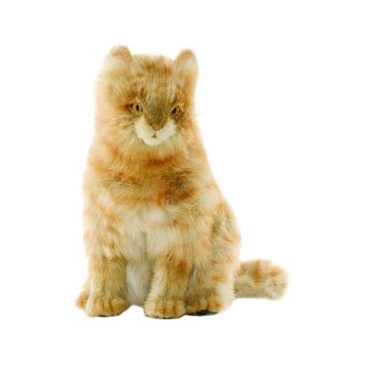 Life-size and realistic plush animals.  4640 - CAT
