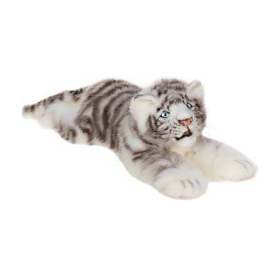 Life-size and realistic plush animals.  4675 - TIGER
