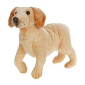 LABRADOR PUPPY 14'' L Plush Toy