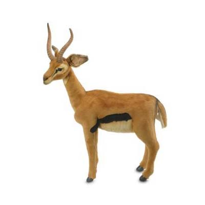 GAZELLE 28''H Plush Toy