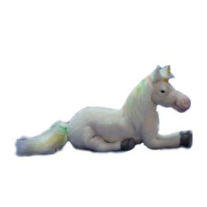 UNICORN FLOPPY 17'' L Plush Toy