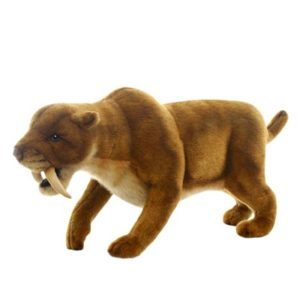 SABER TOOTH 20''L Plush Toy