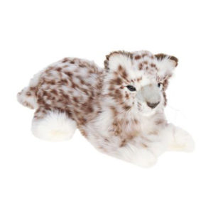 SNOW LEOPARD LAYNG 14''L Plush Toy