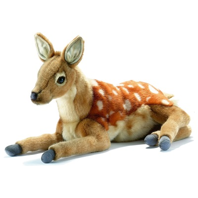 "BAMBI LAYING DOWN 15""L Plush Toy"