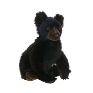 BLACK BEAR CUB 16''H Plush Toy