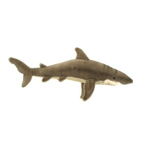 GREAT WHITE SHARK 24''L Plush Toy