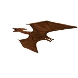 """Life-size and realistic plush animals.  5111 - PTERODACTYL 86''L x 47""""W (SP)"""